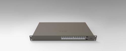 Cisco Meraki GS110-24-HW-UK network switch Managed Gigabit Ethernet (10/100/1000) Gray 1U