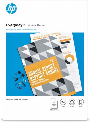 HP 7MV81A printing paper A3 (297x420 mm) Gloss 150 sheets White