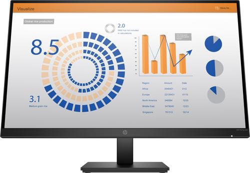 """HP P27q G4 QHD Height Adjust Monitor 68.6 cm (27"""") 2560 x 1440 pixels Quad HD LED Black"""