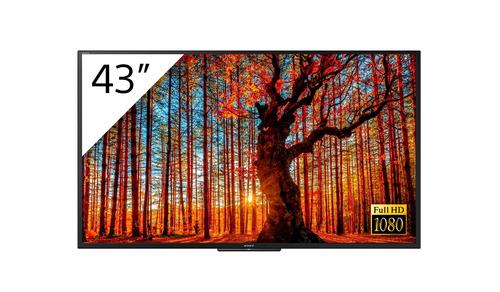 "Sony FWD-43W66F/T beeldkrant Digitale signage flatscreen 109,2 cm (43"") LCD Full HD Zwart Linux"