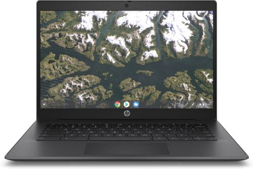 "HP Chromebook 14 G6 Black 35.6 cm (14"") 1366 x 768 pixels Intel® Celeron® N 4 GB LPDDR4-SDRAM 32 GB eMMC Wi-Fi 5 (802.11ac) Chr"