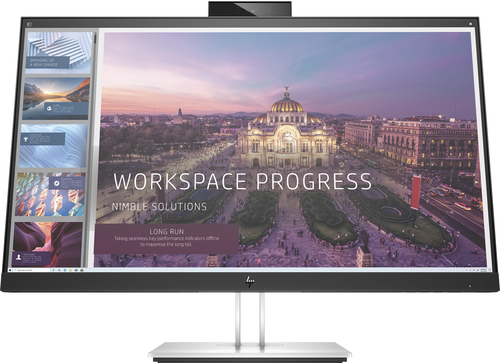 "HP E24d G4 60,5 cm (23.8"") 1920 x 1080 Pixels Full HD LED Zwart, Zilver"