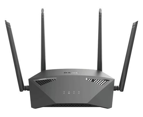 D-Link DIR-1950 draadloze router Dual-band (2.4 GHz / 5 GHz) Gigabit Ethernet Zwart