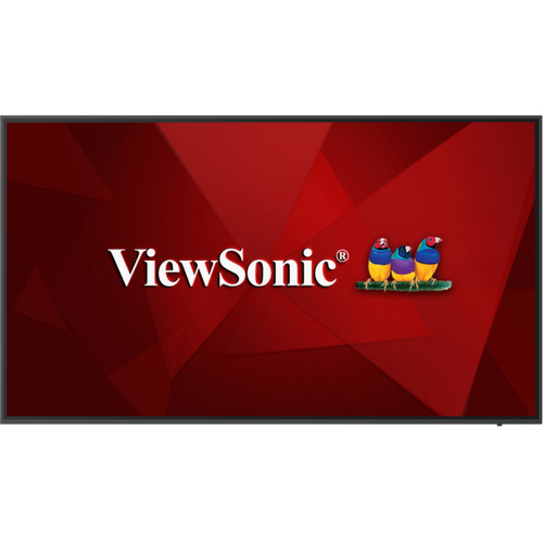 """Viewsonic CDE6520 signage display 165.1 cm (65"""") LCD Black Built-in processor"""