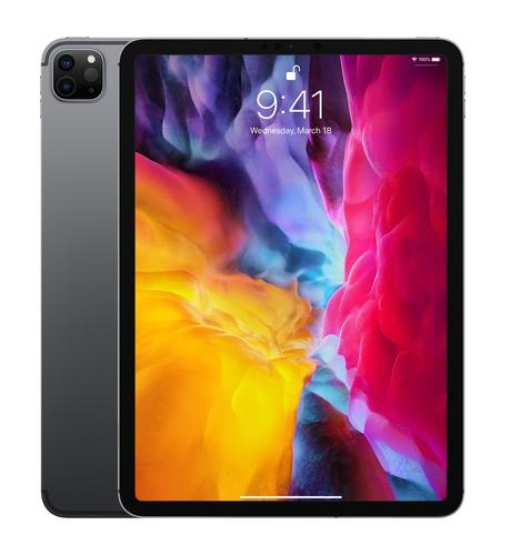 "Apple iPad Pro 4G LTE 256 GB 27,9 cm (11"") Wi-Fi 6 (802.11ax) iPadOS Grijs"