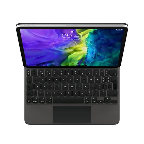 Apple MXQT2B/A mobile device keyboard QWERTY UK English Black