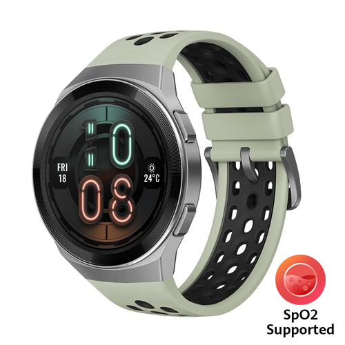 "Huawei WATCH GT 2e smartwatch Zilver AMOLED 3,53 cm (1.39"") GPS"