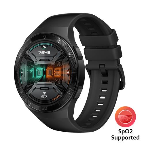 """Huawei WATCH GT 2e smartwatch Zwart AMOLED 3,53 cm (1.39"""") GPS"""