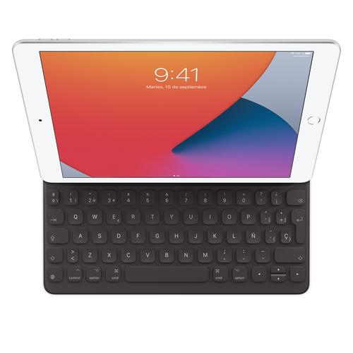 Apple MX3L2Y/A toetsenbord voor mobiel apparaat Zwart Smart Connector QWERTY Spaans