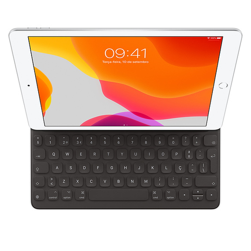 Apple MX3L2PO/A mobile device keyboard QWERTY Portuguese Black Smart Connector