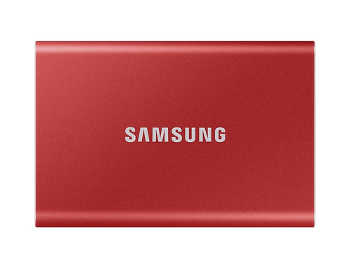Samsung T7 2000 GB Rood