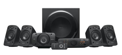 Logitech Z906 speaker set 5.1 channels 500 W Black