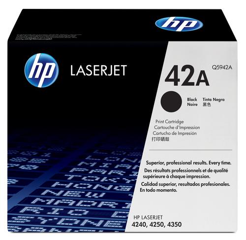 HP 42A originele zwarte LaserJet tonercartridge