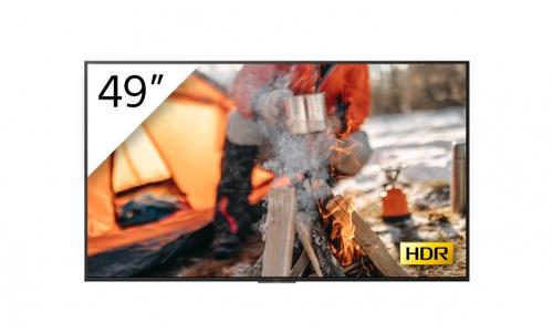 "Sony FWD-49X70H/T beeldkrant 123,2 cm (48.5"") LED 4K Ultra HD Digitale signage flatscreen Zwart Linux"