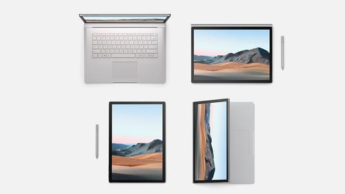 "Microsoft Surface Book 3 Hybrid (2-in-1) Platinum 38.1 cm (15"") 3240 x 2160 pixels Touchscreen 10th gen Intel® Core™ i7 32 GB L"