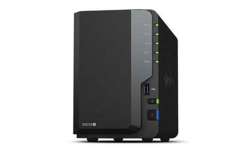 Synology DiskStation DS220+ NAS/storage server J4025 Ethernet LAN Compact Black