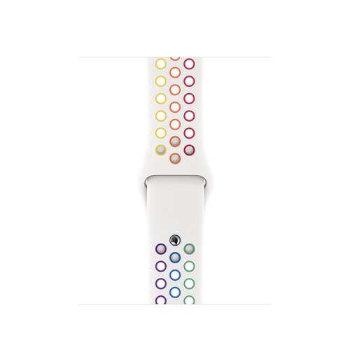Apple MYD52ZM/A smartwatch accessory Band Multicolor, White Fluoroelastomer