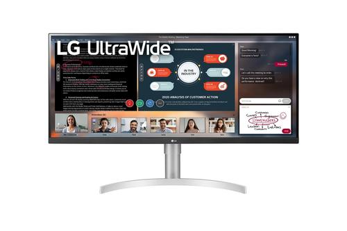 """LG 34WN650 LED display 86,4 cm (34"""") 2560 x 1080 Pixels UltraWide Full HD Wit"""