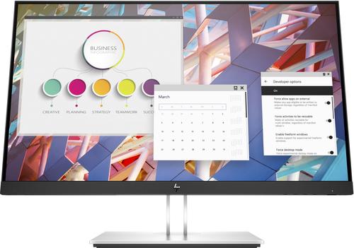 """HP E24 G4 60,5 cm (23.8"""") 1920 x 1080 Pixels Full HD LCD Zwart, Zilver"""