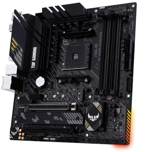 ASUS TUF GAMING B550M PLUS Socket AM4 Micro ATX AMD B550