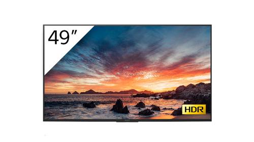 "Sony FWD-49X80H/T beeldkrant Digitale signage flatscreen 123,2 cm (48.5"") LED, IPS 4K Ultra HD Zwart Type processor Android 9.0"