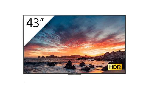 "Sony FWD-43X80H/T beeldkrant Digitale signage flatscreen 108 cm (42.5"") LED, IPS 4K Ultra HD Zwart Type processor Android 9.0"