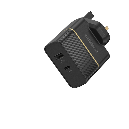 OtterBox USB-C and USB-A Fast Charge Dual Port Wall Charger