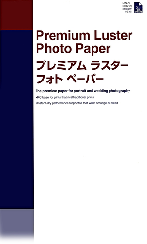 Epson Premium Luster Photo Paper, DIN A2, 260g/m², 25 Vel