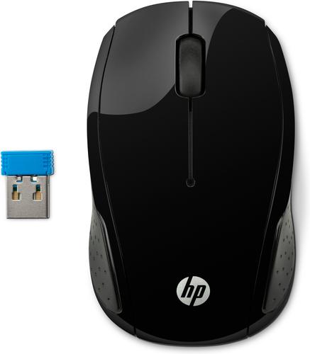 HP 200 muis RF Draadloos Optisch 1000 DPI Ambidextrous