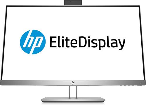 """HP EliteDisplay E243d 60,5 cm (23.8"""") 1920 x 1080 Pixels Full HD LED Grijs, Zilver"""