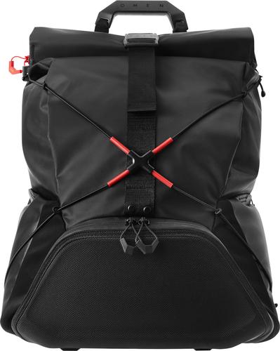 "HP OMEN X Transceptor notebook case 43.2 cm (17"") Backpack Black"