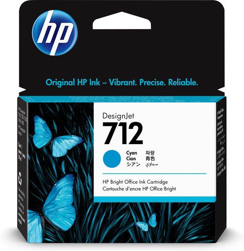 HP 712 Original Cyan 1 pc(s)