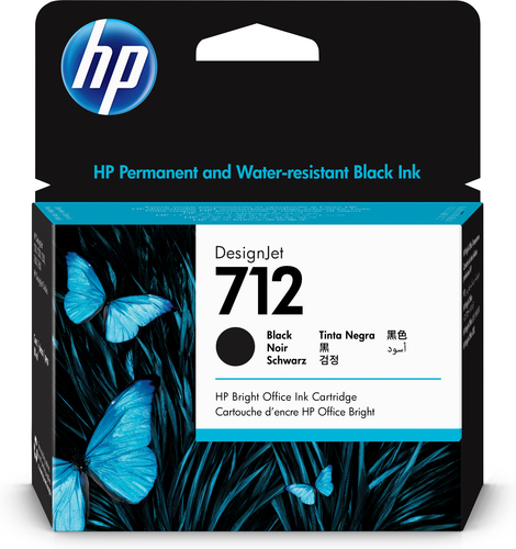 HP 712 Original Black 1 pc(s)