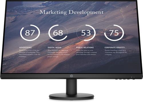 "HP P27v G4 68.6 cm (27"") 1920 x 1080 pixels Full HD LCD Black"
