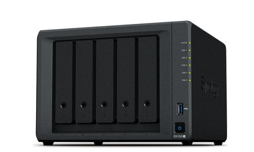 Synology DiskStation DS1520+ NAS/storage server J4125 Ethernet LAN Desktop Black