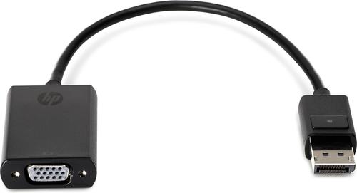 HP DisplayPort To VGA Adapter Bulk 90