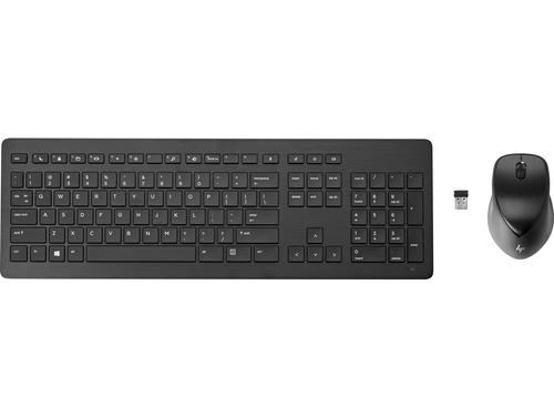 HP 950MK toetsenbord RF Draadloos QWERTY US International Zwart