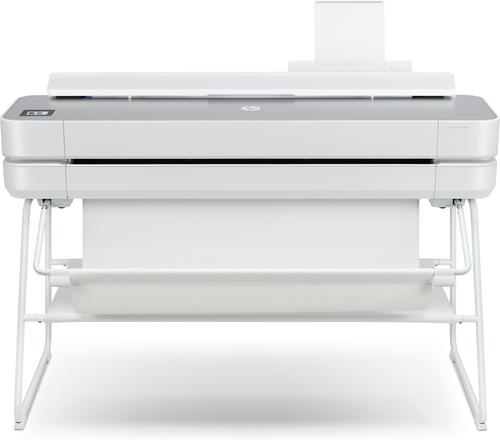 HP Designjet Studio Steel 36-in grootformaat-printer Wi-Fi Thermische inkjet Kleur 2400 x 1200 DPI A0 (841 x 1189 mm) Ethernet