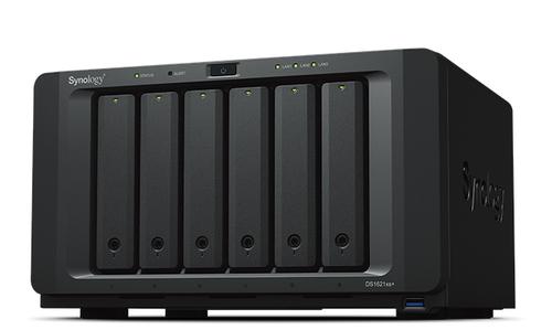 Synology DiskStation DS1621xs+ D-1527 Ethernet LAN Desktop Black NAS