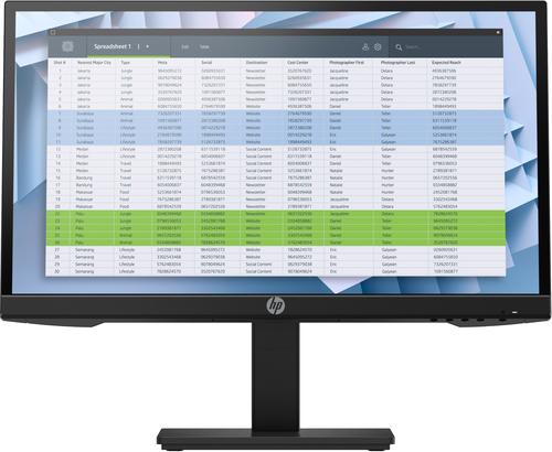 """HP P22 G4 54.6 cm (21.5"""") 1920 x 1080 pixels Full HD Black"""