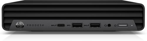 HP ProDesk 600 G6 Intel® 10de generatie Core™ i5 i5-10500T 8 GB DDR4-SDRAM 256 GB SSD mini PC Zwart Windows 10 Pro
