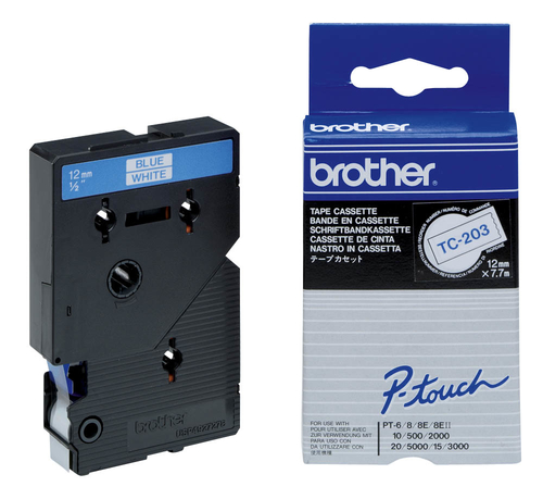 Brother Labeltape 12mm
