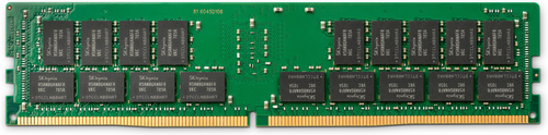 HP 4GB (1x4GB) 3200 DDR4 NECC UDIMM geheugenmodule