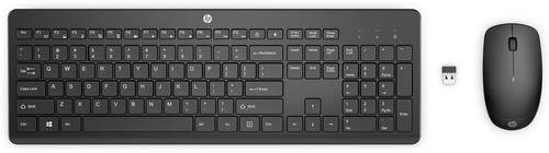HP 230 toetsenbord RF Draadloos QWERTY Engels Zwart