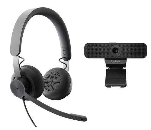 Logitech Personal Collaboration kit - Zone Wired & C925e - Microsoft