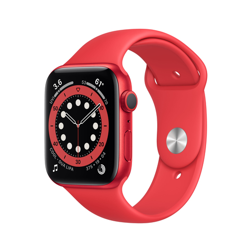 Apple Watch Series 6 OLED Rood GPS