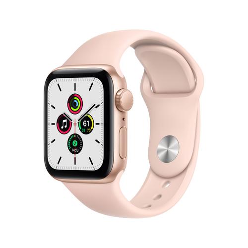 Apple Watch SE OLED Goud GPS