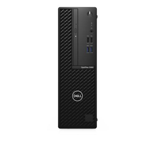 DELL OptiPlex 3080 10th gen Intel® Core™ i5 i5-10500 8 GB DDR4-SDRAM 256 GB SSD SFF Black PC Windows 10 Pro