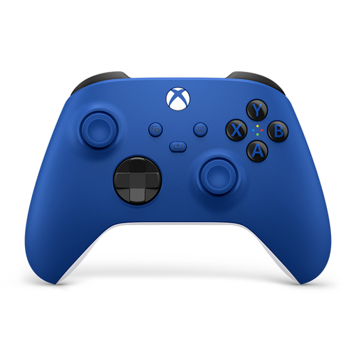 Microsoft Xbox Wireless Controller Blue Blauw Bluetooth/USB Gamepad Analoog/digitaal Xbox One, Xbox One S, Xbox One X