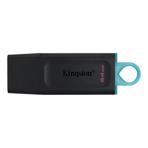 Kingston Technology DataTraveler Exodia USB flash drive 64 GB USB Type-A 3.2 Gen 1 (3.1 Gen 1) Zwart